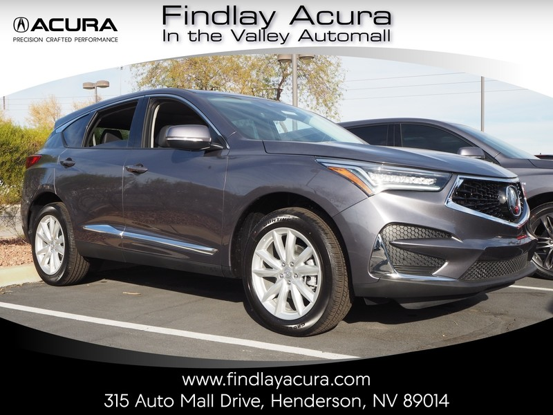 New 2019 Acura Rdx Base Sport Utility In Henderson D190471