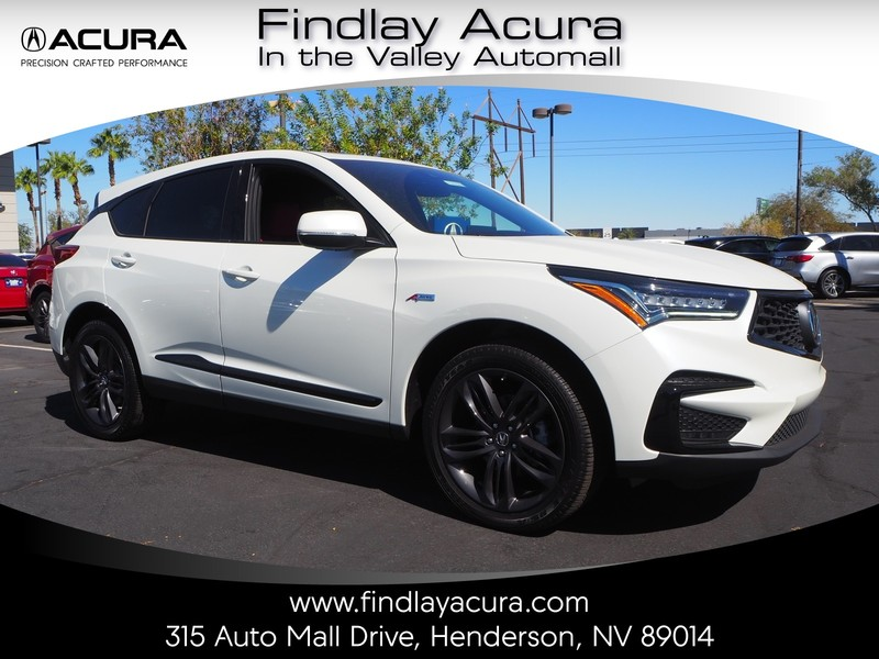 New 2019 Acura Rdx With A Spec Package Sport Utility In Henderson