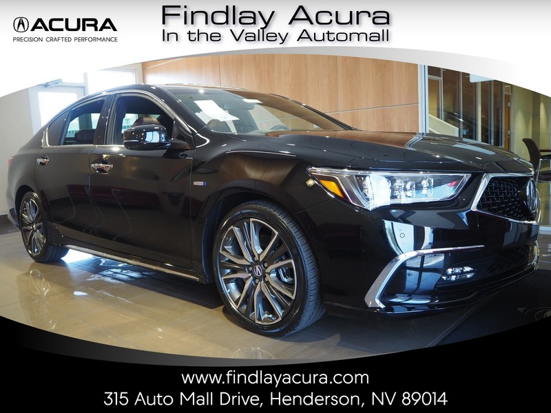 New Acura RLX Sport Hybrid SHAWD With Advance Package SHAWD - Acura hybrid 2018