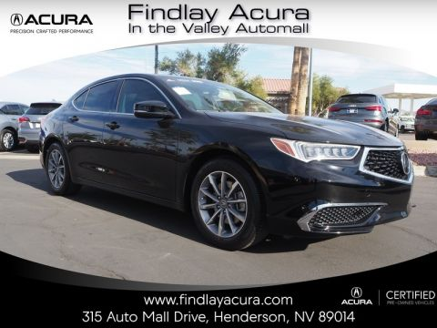 Certified Pre-Owned 2018 Acura TLX 2.4 8-DCT P-AWS with Technology Package Front Wheel Drive 4DR