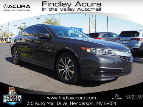 Certified Pre-Owned 2016 Acura TLX TECHNOLOGY Front Wheel Drive 4DR