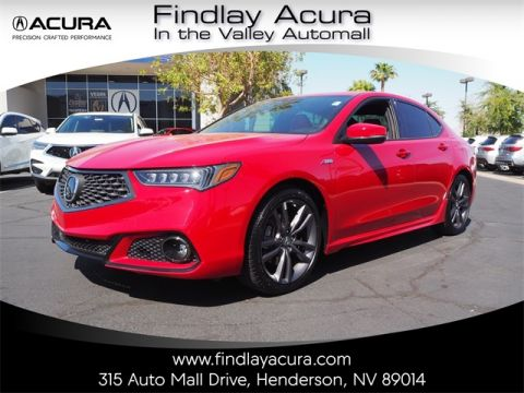 Pre-Owned 2019 Acura TLX 2.4L Technology Pkg w/A-Spec Pkg FWD 4D Sedan