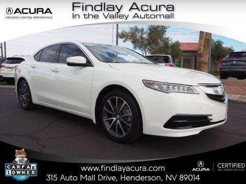 Certified Pre-Owned 2016 Acura TLX 3.5 V-6 9-AT P-AWS Front Wheel Drive 4DR