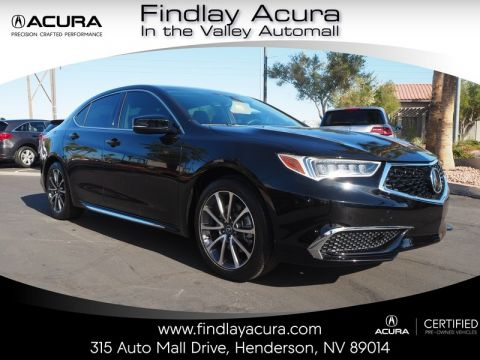 Certified Pre-Owned 2018 Acura TLX 3.5 V-6 9-AT P-AWS with Technology Package Front Wheel Drive 4DR