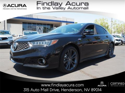 Certified Pre-Owned 2018 Acura TLX A-SPEC 3.5 V-6 9-AT P-AWS with A-SPEC RED