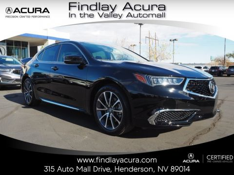 Certified Pre-Owned 2018 Acura TLX 3.5L TECHNOLOGY AWD
