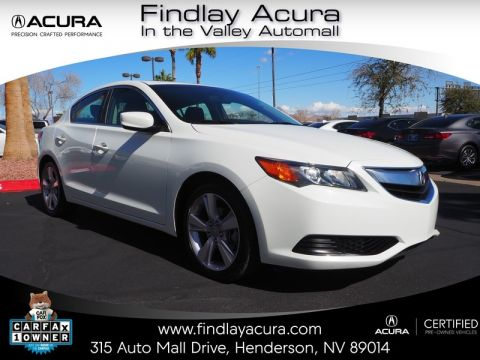 Certified Pre-Owned 2014 Acura ILX 5-Speed Automatic