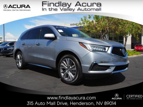 Pre-Owned 2017 Acura MDX TECHNOLOGY Front Wheel Drive 5DR