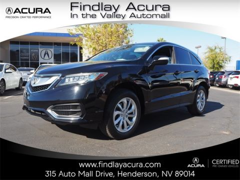 Certified Pre-Owned 2016 Acura RDX with Technology Package FWD 4D Sport Utility