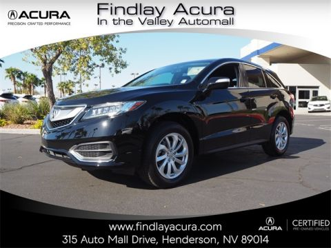 Certified Pre-Owned 2017 Acura RDX with Technology Package FWD 4D Sport Utility