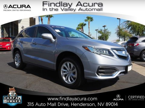Certified Pre-Owned 2016 Acura RDX with Technology Package Front Wheel Drive 4DR
