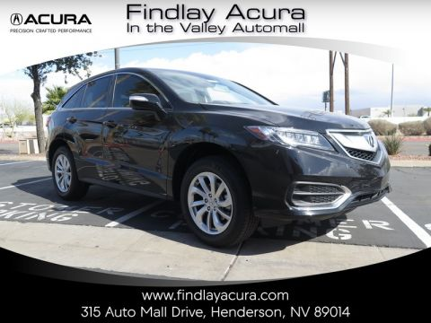 Pre-Owned 2017 Acura RDX TECHNOLOGY Front Wheel Drive 5DR
