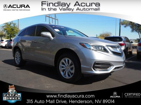 Certified Pre-Owned 2017 Acura RDX with Technology Package Front Wheel Drive 5DR