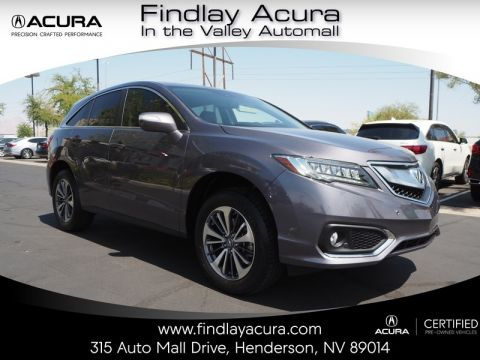 Certified Pre-Owned 2017 Acura RDX ADVANCE Front Wheel Drive 5DR