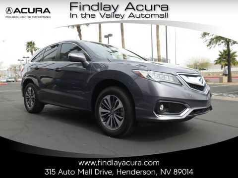 Pre-Owned 2017 Acura RDX ADVANCE Front Wheel Drive 5DR