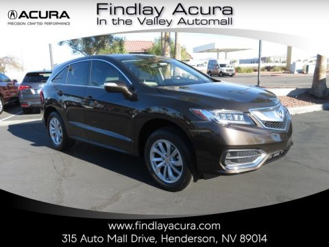 Pre-Owned 2017 Acura RDX TECHNOLOGY AWD