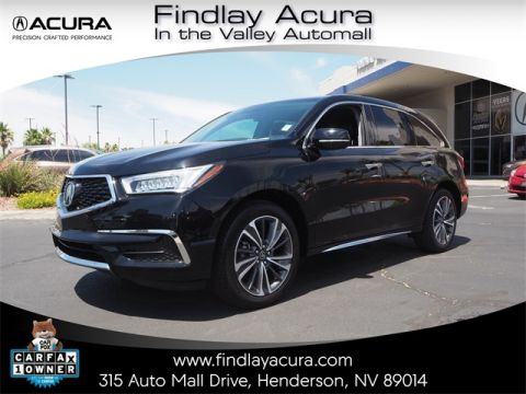 Pre-Owned 2019 Acura MDX 3.5L Technology Package FWD 4D Sport Utility