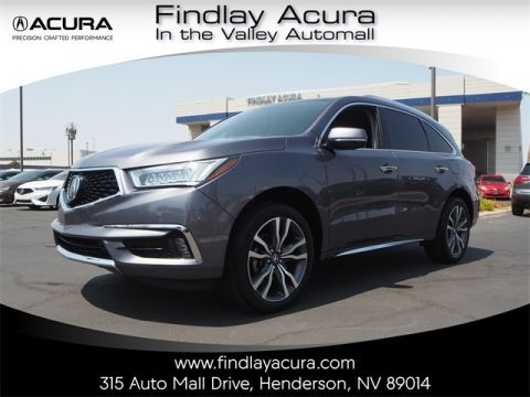 Pre-Owned 2019 Acura MDX 3.5L Advance Package FWD 4D Sport Utility