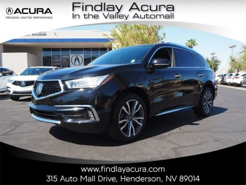 Pre-Owned 2019 Acura MDX 3.5L Advance Package