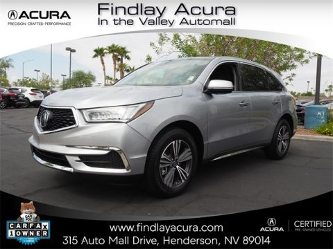 Certified Pre-Owned 2018 Acura MDX SH-AWD